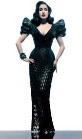 Dita Von Teese in Michael Schmidt by Albert Sanchez